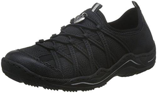 RiekerL0551 - Sneaker donna Nero (Schwarz/schwarz/schwarz)