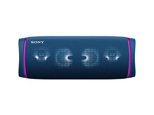 Oferta de Sony SRS-XB43 - Altavoz Bluetooth Potente, con Luces, Extra Bass, Resistente al Agua, Polvo, óxido y Larga duración de batería de hasta 24h