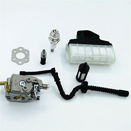 Shioshen Vergaser Dichtung Öl Filter Kraftstoffleitung passen STIHL 021 023 025 MS210 MS230 MS250 Walbro Vergaser Motorsäge