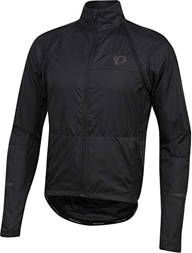 Pearl Izumi Elite Escape Convertible Jacket Men Black Größe S 2018 Wasserdichte Jacke