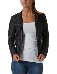 Only - 15081400 - Blouson Femme, noir, FR : 42 (Taille fabricant : 40 )