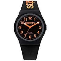 Superdry Unisex Analogue Quartz Watch with Silicone Strap SYG164B