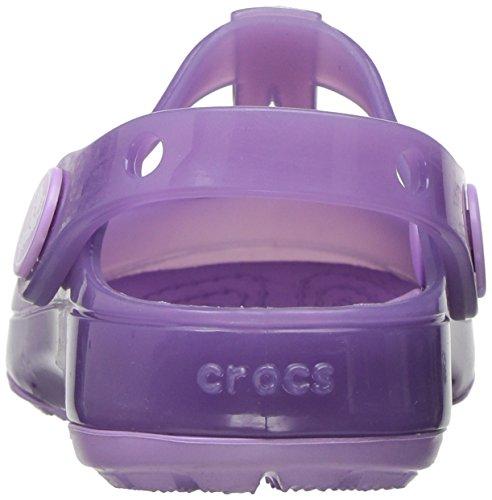 Crocs 204034, Ballerines à Bout Fermé Fille Violet (Iris)