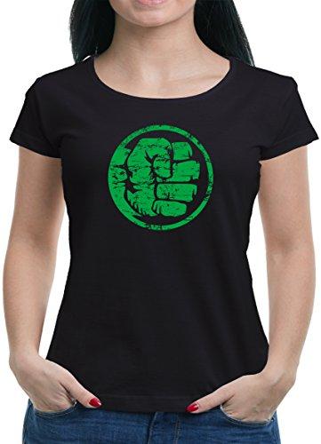 TLM Hulk Fist Bump T-Shirt Damen L (Frauen Punisher Kostüm)