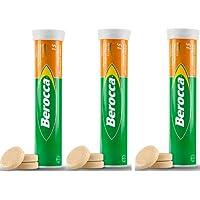 Berocca Vitamin B Orange Effervescent 45 Tablets (15 X 3)