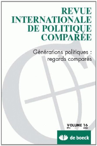 Revue Internationale de Politique Comparée 2009/2 - Vol.16