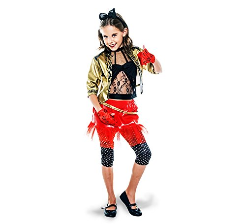 Disfraz de Punky de los años 80 para niña