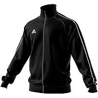 Adidas CORE18 PES JKT Chaqueta, Hombre, Negro/Blanco, 3XL