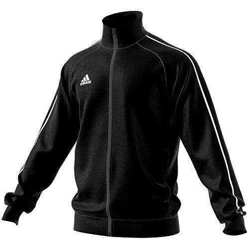 adidas Kinder Core 18 Jacke, Black/White, 164