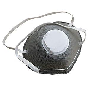 HEALIFTY Aktivkohle-Maske mit staubdichter Gesichtsmaske PM2.5 für den Außenbereich