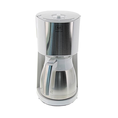 Melitta Enjoy Ii Top Therm Filter Coffee Machine, White/Stainless Steel