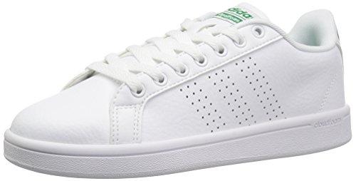 promo code abd27 46caa adidasCLOUDFOAM Advantage Clean - Cloudfoam Advantage Clean Homme, Blanc  (White White Green