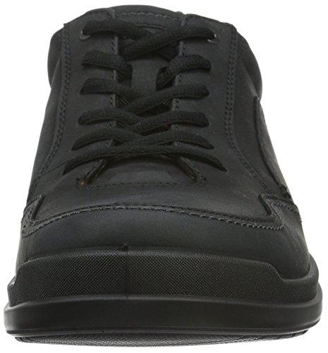Ecco Herren Howell Sneakers Schwarz (Black 2001)