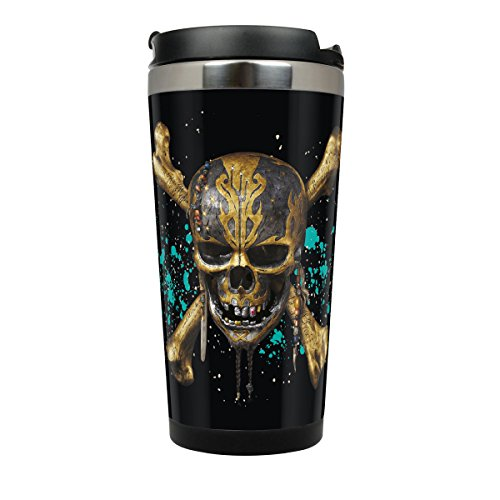Pirates of the Caribbean: Salazars Rache Coffee to go Becher Skull (Rache-becher)