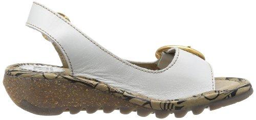 Fly London Tram, Chaussures de ville femme Blanc cassé - Offwhite