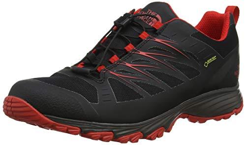 THE NORTH FACE Herren M Venture Fastlace GTX Trekking-& Wanderhalbschuhe, (TNF Black/Fiery Red Tj2), 43 EU
