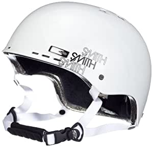 Smith Holt Park Mens Snowboard Helmet - XL (60 - 62 cm), White