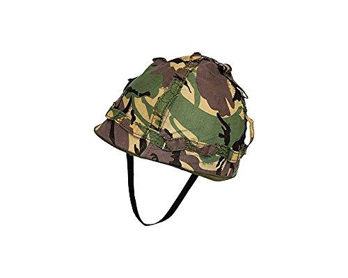 Highlander Kinder Helm mit Cover–Replica Military Style Play Helm perfekt für Armee Verkleidungen in Fancy Kleid Gr. Einheitsgröße, British Camo