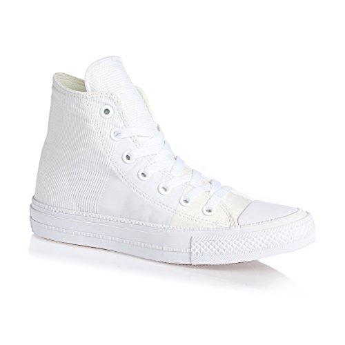 ConverseChuck Taylor All Star Ii - Pantofole a Stivaletto Unisex – Adulto bianco / bianco