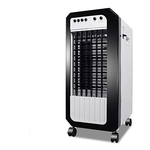 oanzryybz Refroidisseur d'air, Refroidisseur d'air Domestique, climatiseur Mobile, Ventilateur Froid, économie d'énergie silencieuse@Noir et Blanc_Froid et Chaud