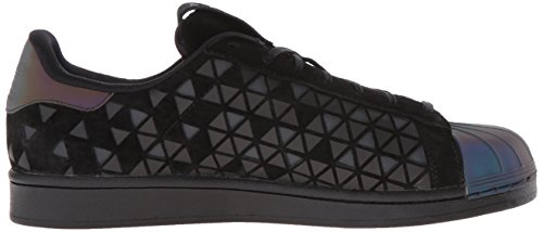 Adidas Superstar Foundation, Sneakers Unisex Adulto Black/Black/Black