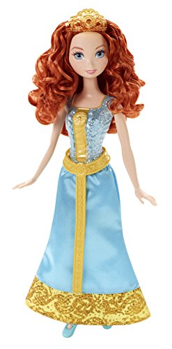 Mattel Disney Princess CFB78 - Märchenglanz Prinzessin Merida Puppe