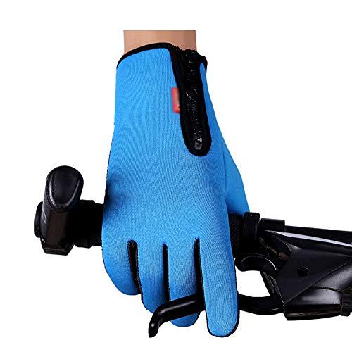 Zfgg guanti sportivi amanti maschili e femminili guanti sportivi antivento equitazione arrampicata guanti da alpinismo sci impermeabile e antivento tutte le dita guanti antiscivolo caldi, una varietà