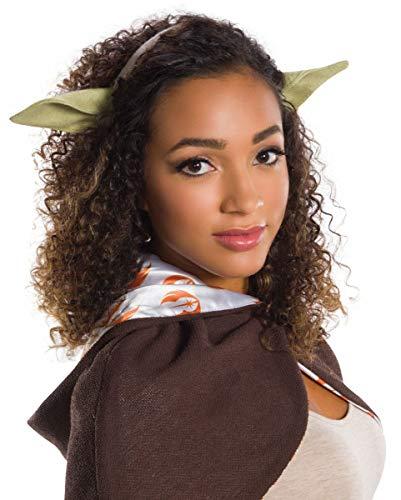 Kostüm Yoda Kopf - Yoda Ohren Haarreif für Fasching & Conventions