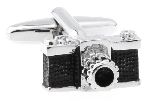 Men's Bodega Cuff-Daddy-Gemelli con ciondolo fotocamera