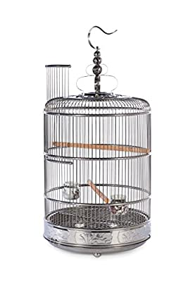 PREVUE PET PRODUCTS Empress Stainless Steel Bird Cage 151, Stainless Steel by Prevue Pet Products