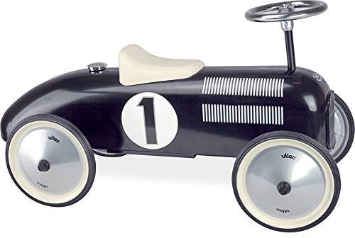 Vilac- Porteur Voiture Vintage Noir, 1121