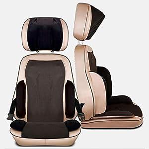 Zcyg Massageauflage,massagegerät, Cervical Massage, Hals, Taille, Hüfte, Rücken Massageeinrichtungen, Teig knetet, Wärme, Vibration, for Büro, Haus, Auto
