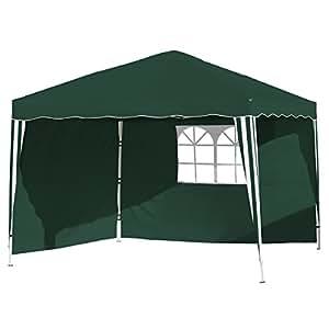 Vanage–vg-8446300x 300x 260cm, Gazebo, colore: verde