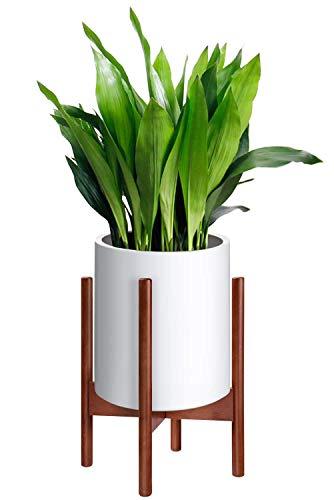 hblife Pflanzenständer Mitte Jahrhundert Holz Blumen Topfhalter Display Topf Rack rustikale Wohnkultur Blumen Rack