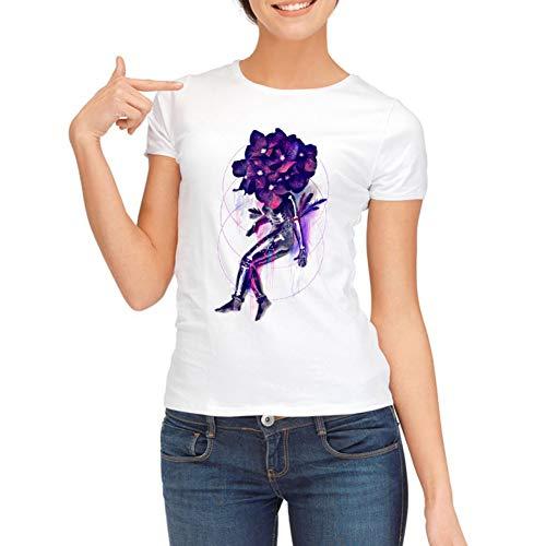 ZCYTIM Mode Frauen Voodoo Königin T Shirts Benutzerdefinierte Oansatz Frauen Casual Mädchen 2019 Sommer T Shirts Tops -