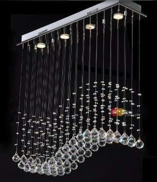 modernen minimalistischen deckenleuchte kristall lampe 002 beleuchtung. Black Bedroom Furniture Sets. Home Design Ideas