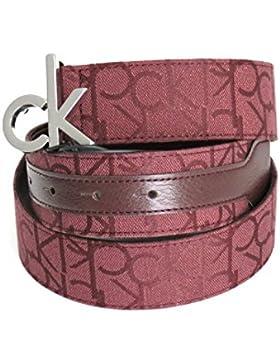 Calvin Klein Gürtel mit einem Logo Jacquard-Stoff Farbe marc 80