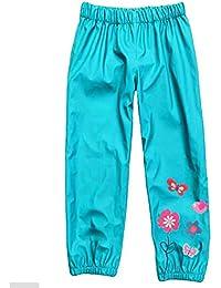 Highdas Chaleco impermeable impermeable impermeable de las muchachas de las muchachas de Outwear Jacket