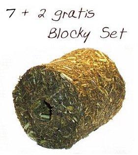 Steppenlemmings 7+2 gratis Blocky Set, getreidefrei, handgemacht