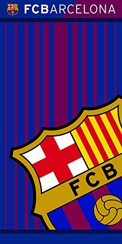 605f855181 Fc Barcelona 113075-FCB202, Toalla, Poliéster, Azulgrana, 70 x 140 cm