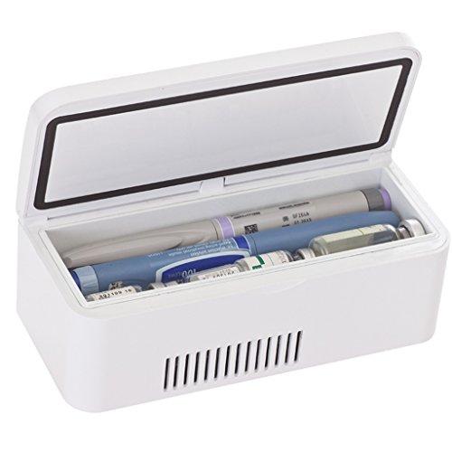 Productos finos XQCYL Refrigerador De La Medicina Y Refrigerador De La Insulina...