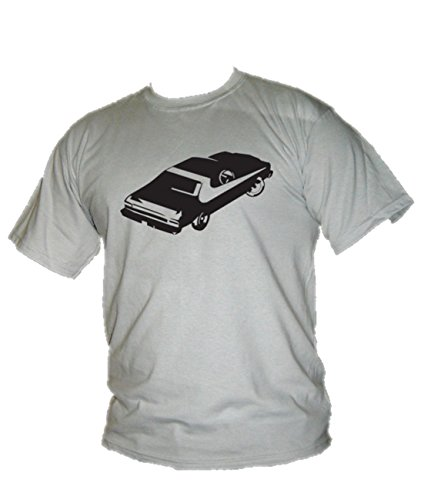 Ford Torino–Starsky & Hutch Classic Muscle Car Herren T-Shirt Grau - Ice Grey