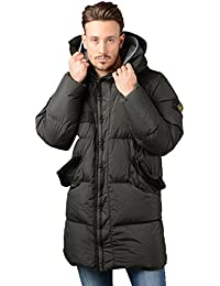 Stone Island Jacket - Mens 70223 Garment Dyed Crinkle Reps NY Down Jacket In Green