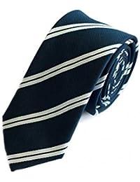 Étroit Cravate de Fabio Farini en bleu 6cm Largeur