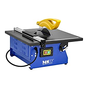 41DfVxu83nL. SS300  - MSW Máquina de cortar azulejos eléctrica T-SAW180G (600 W, refrigeración por agua, profundidad de corte máxima a 90°: 34 mm)