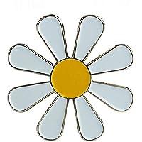 Patch Nation Pin con Diseño de Margarita Blanca