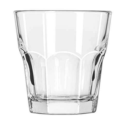 Gibraltar 35.5 cl Glass Rocks, Pack of 12, Transparent