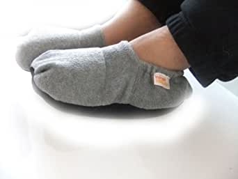 Microwave Slippers for Men Large Size 8-11 GREY
