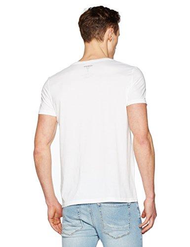 BOSS Orange Herren T-Shirt Weiß (White 100)