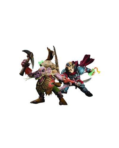 DC Unlimited Figuras Brink Spannercrank vs. Kobold Miner Gnome Rogue World of Warcraft